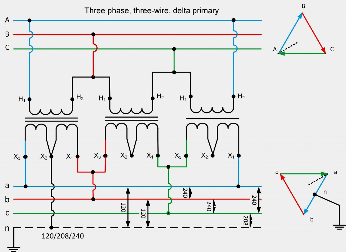 3 Phase 208 240 Buck Boost Transformer Wiring Diagram | Manual E-Books - Buck Boost Transformer Wiring Diagram