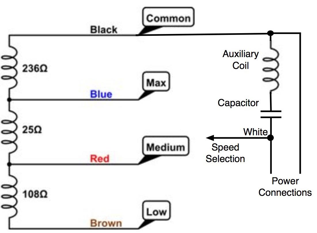 3 Speed Fan Wiring Diagrams | Manual E-Books - 3 Speed Fan Wiring Diagram