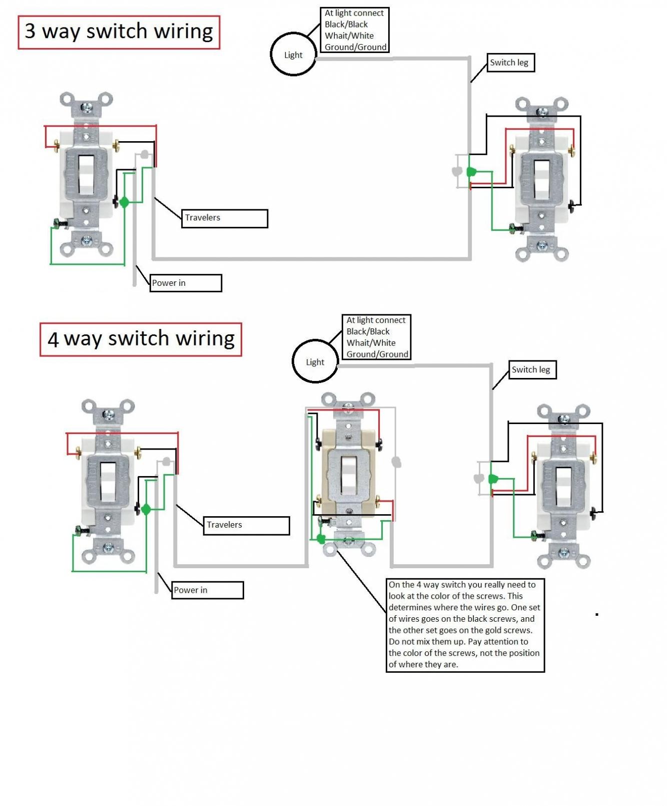 3 Way Light Switch Wiring Diagram Pdf | Wiring Diagram - 2 Way Switch Wiring Diagram Pdf