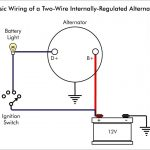 3 Wire Delco Alternator Wiring   Data Wiring Diagram Schematic   Gm 3 Wire Alternator Wiring Diagram