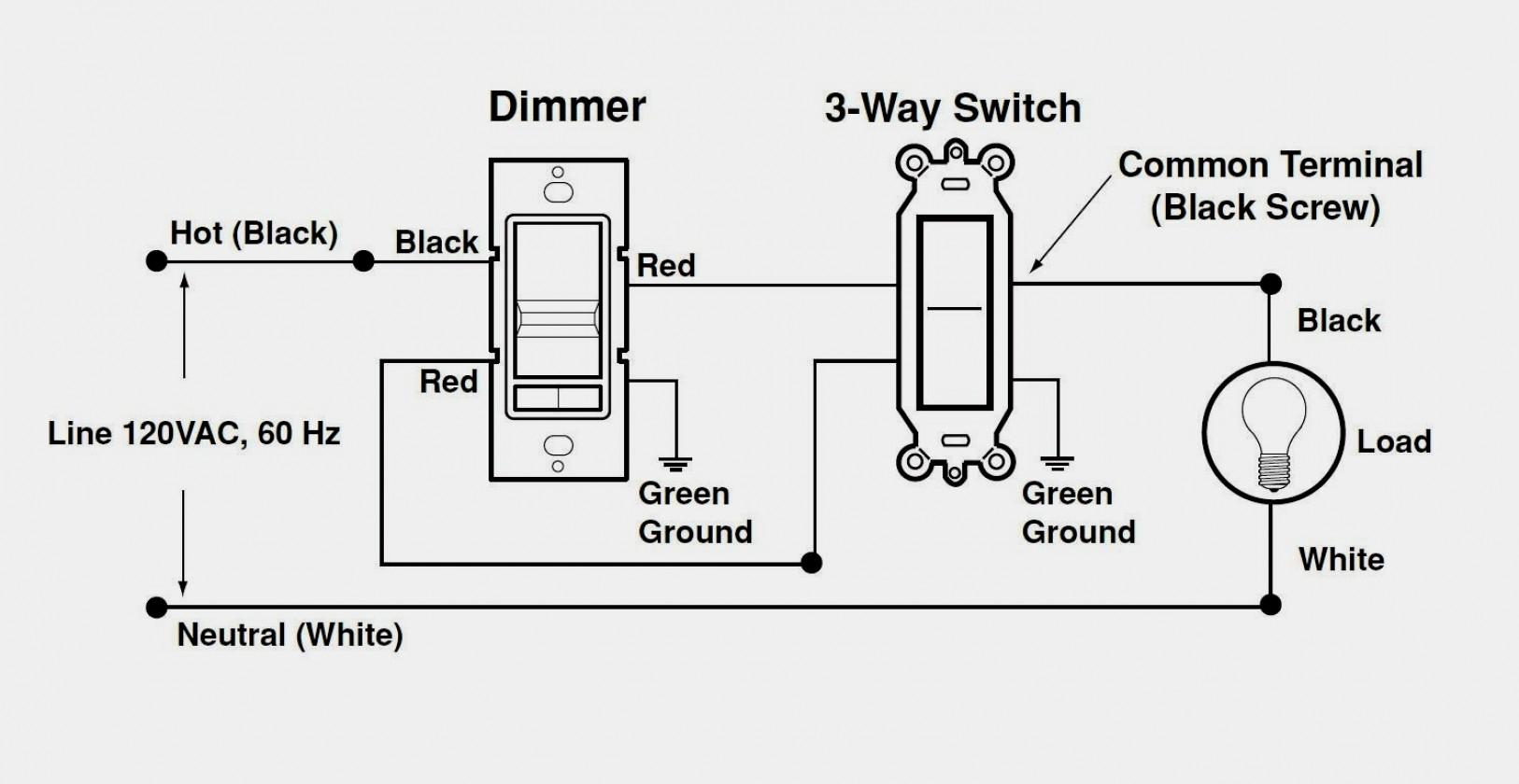 3 Wire Dimmer Switch Diagram   Wiring Diagram - Lutron 3 Way Dimmer Wiring Diagram
