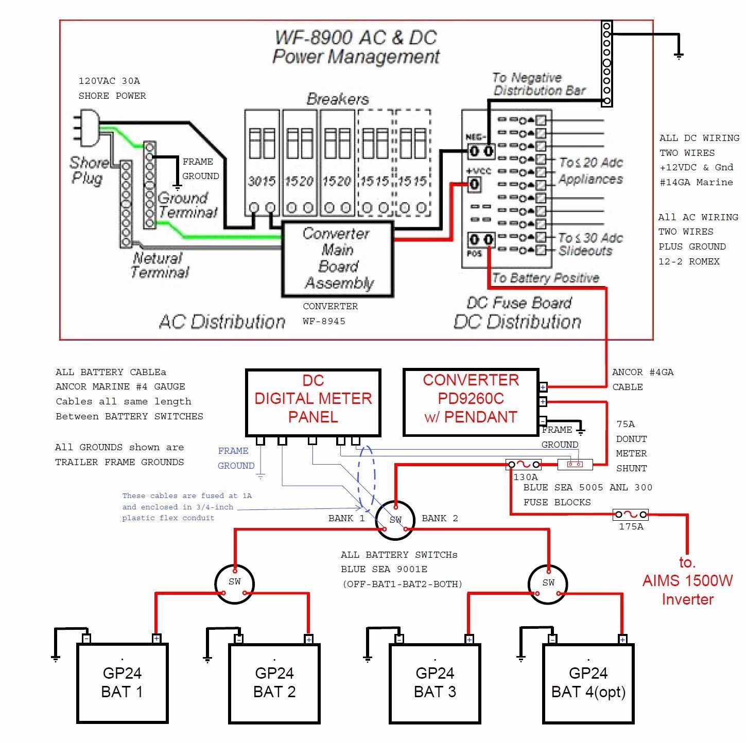 30 Amp Rv Plug Wiring Diagram Inspirational Wiring Diagram For Rv - 30 Amp Plug Wiring Diagram