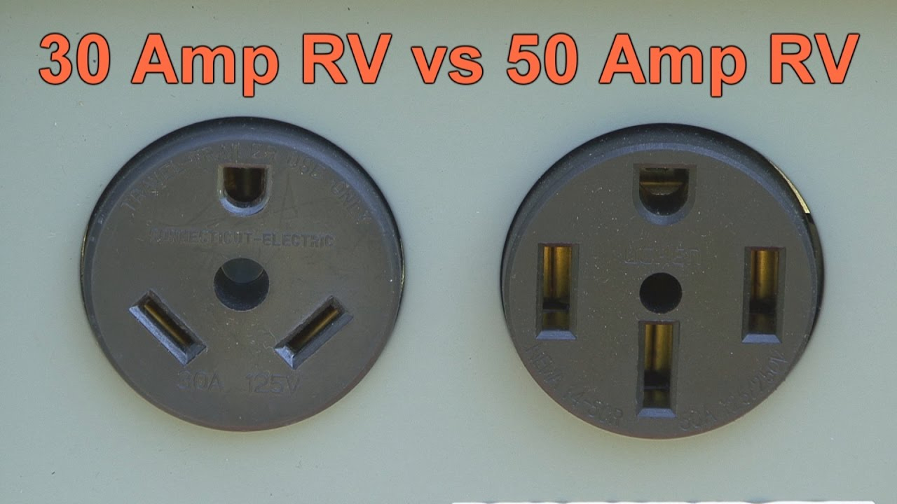 30 Amp Rv Vs 50 Amp Rv - Youtube - 50 Amp To 30 Amp Rv Adapter Wiring Diagram