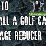 36 Or 48 Volt Voltage Reducer | How To Install Video Tutorial | Golf   Club Car Wiring Diagram 48 Volt