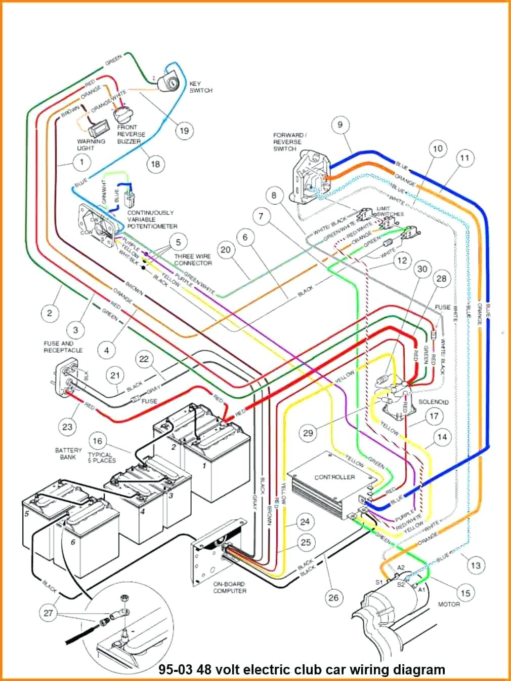 36 Volt Wiring Diagram - Wiring Diagrams - 36 Volt Golf Cart Wiring Diagram