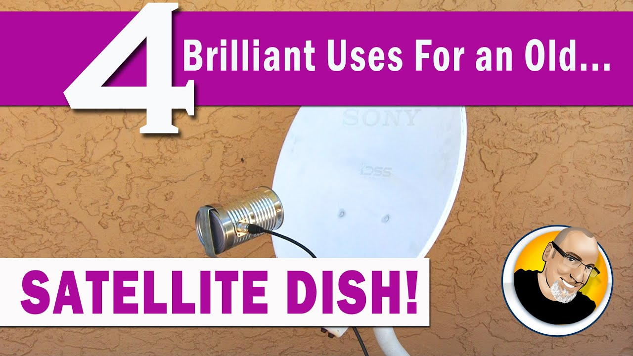 4 Brilliant Uses For An Old Satellite Dish! - Youtube - Dish Wally Wiring Diagram