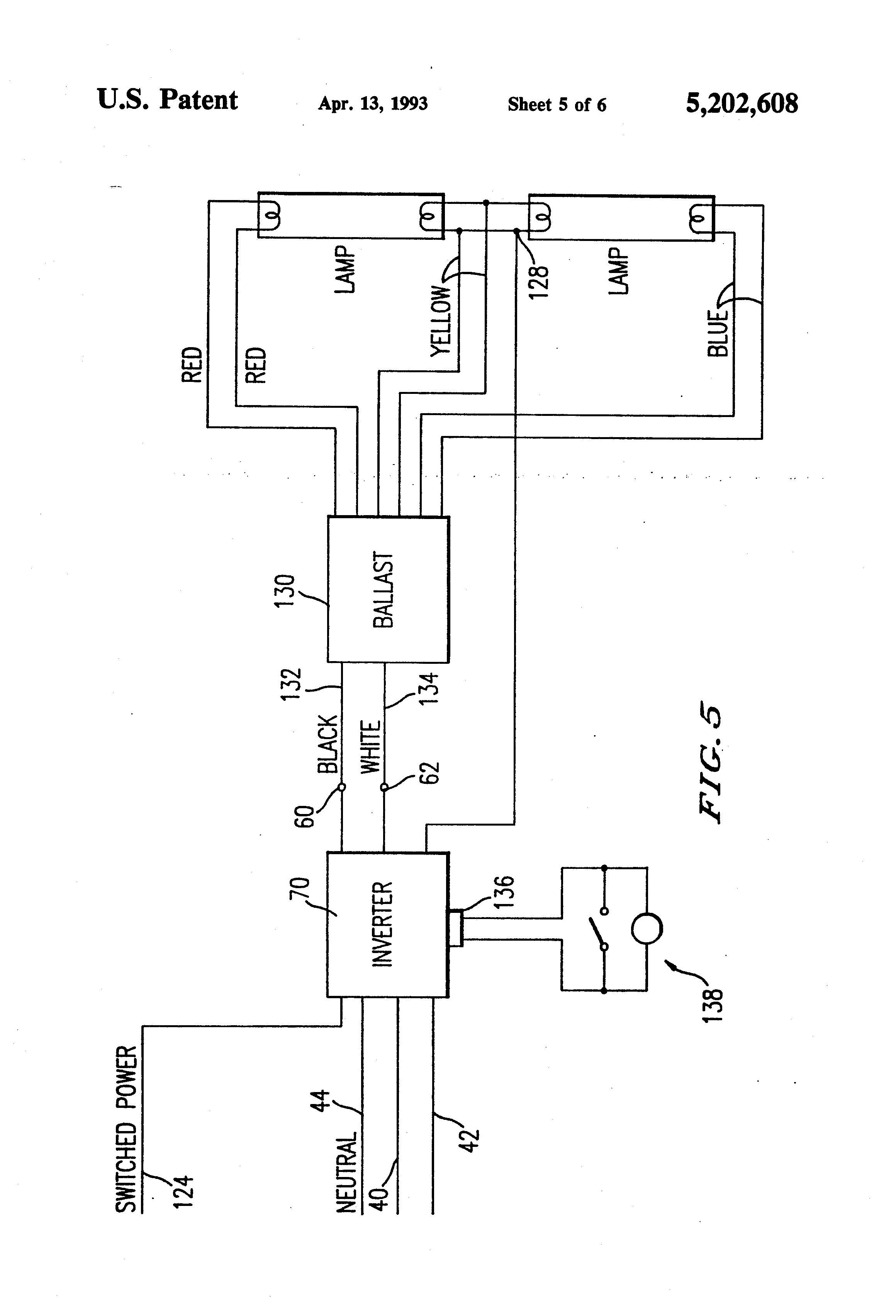 4 Bulb Ballast Wiring Diagram | Free Wiring Diagram - 2 Lamp T8 Ballast Wiring Diagram