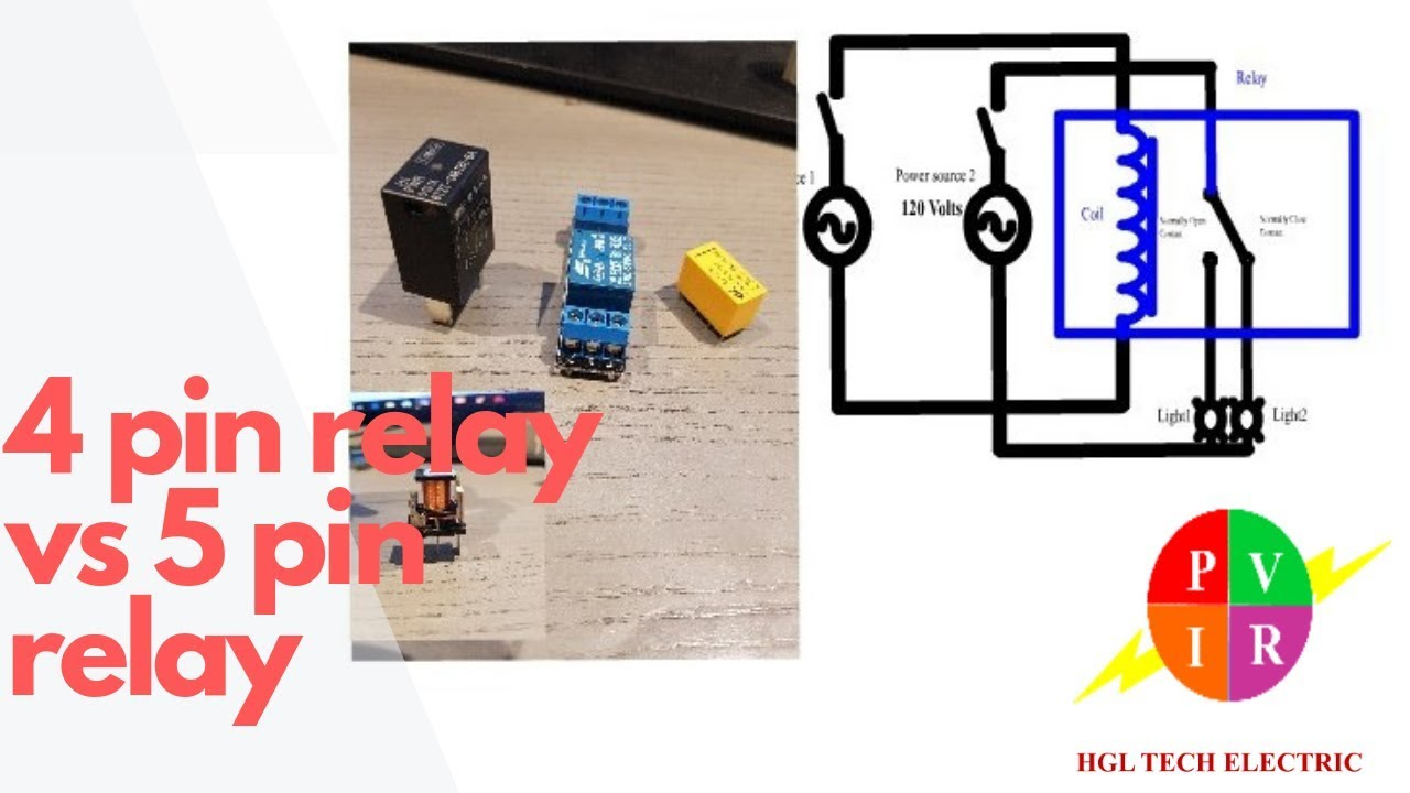 4 Pin Relay Vs 5 Pin Relay. 4 Pin Relay And 5 Pin Relay Wiring - 4 Prong Relay Wiring Diagram