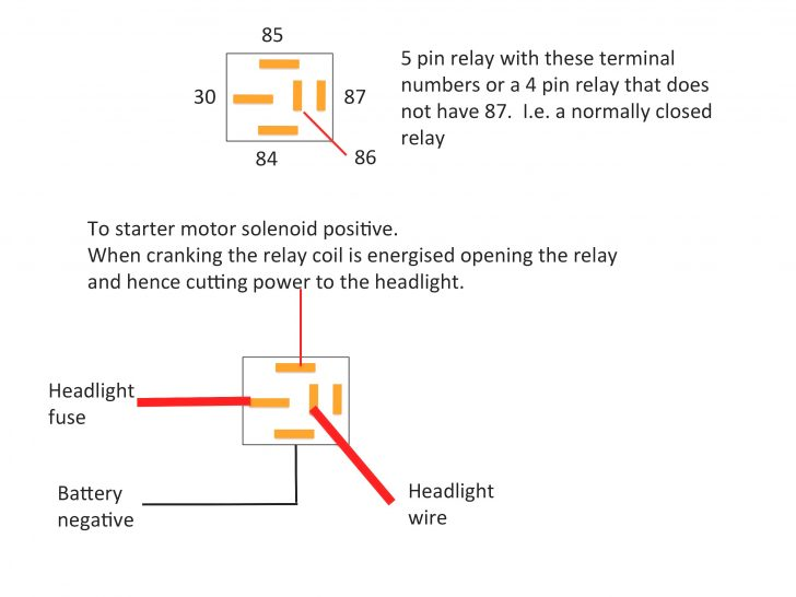How To Wire 5 Pin Relay