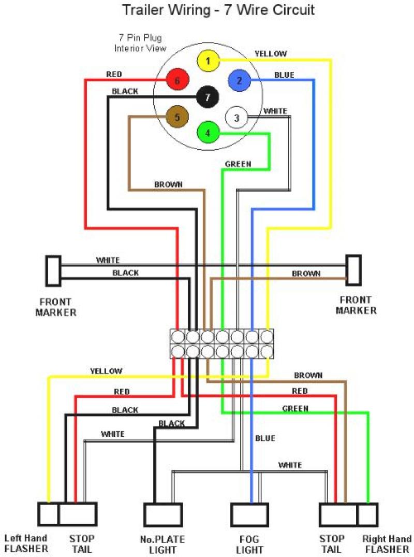 4 Prong Trailer Wiring Diagram - Deltagenerali - 7 Pin To 4 Pin Trailer Wiring Diagram