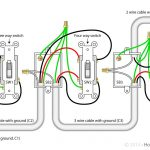 4 Way Switch With Power Feed Via The Light Switch | How To Wire A   4 Way Light Switch Wiring Diagram