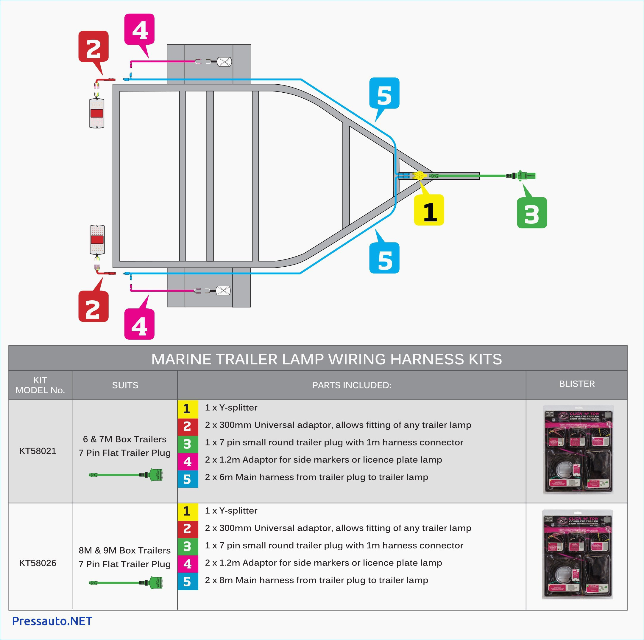 4 Way Trailer Plug Wiring Diagram Valid 5 Pin Flat Trailer Wiring - 4 Way Trailer Wiring Diagram