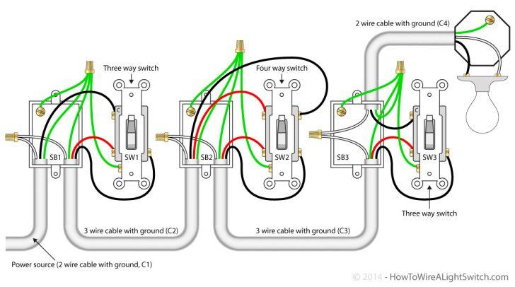 4 Way Wiring Diagram