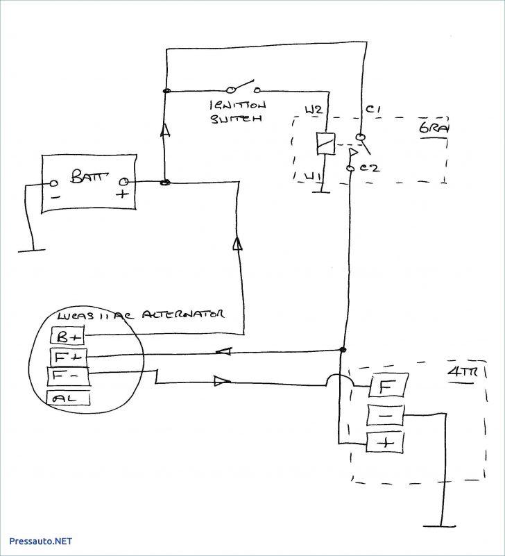 Chevy 4 Wire Alternator Wiring Diagram