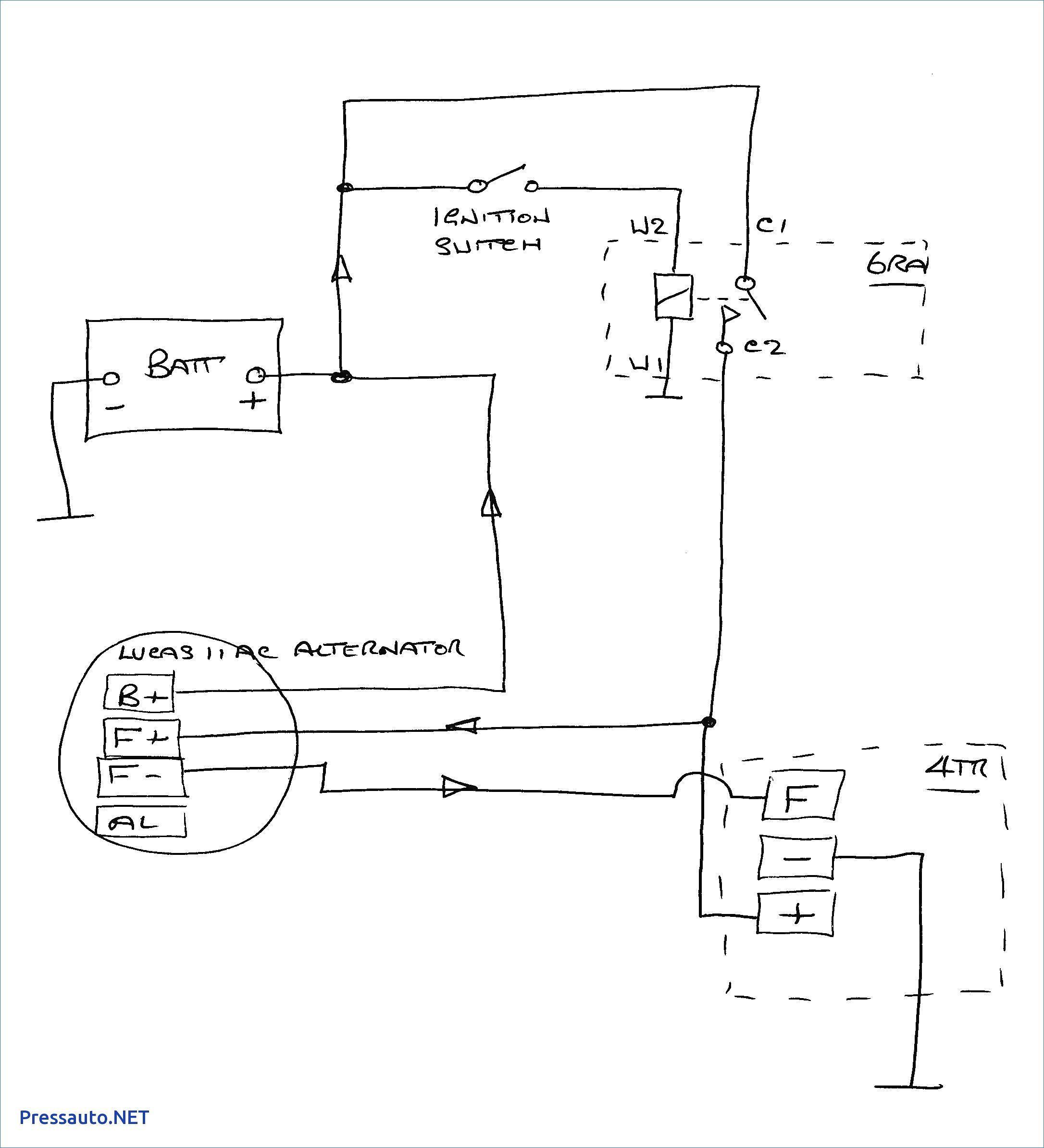 4 Wire Gm Alternator Wiring Diagram 12V   Wiring Diagram - Chevy 4 Wire Alternator Wiring Diagram