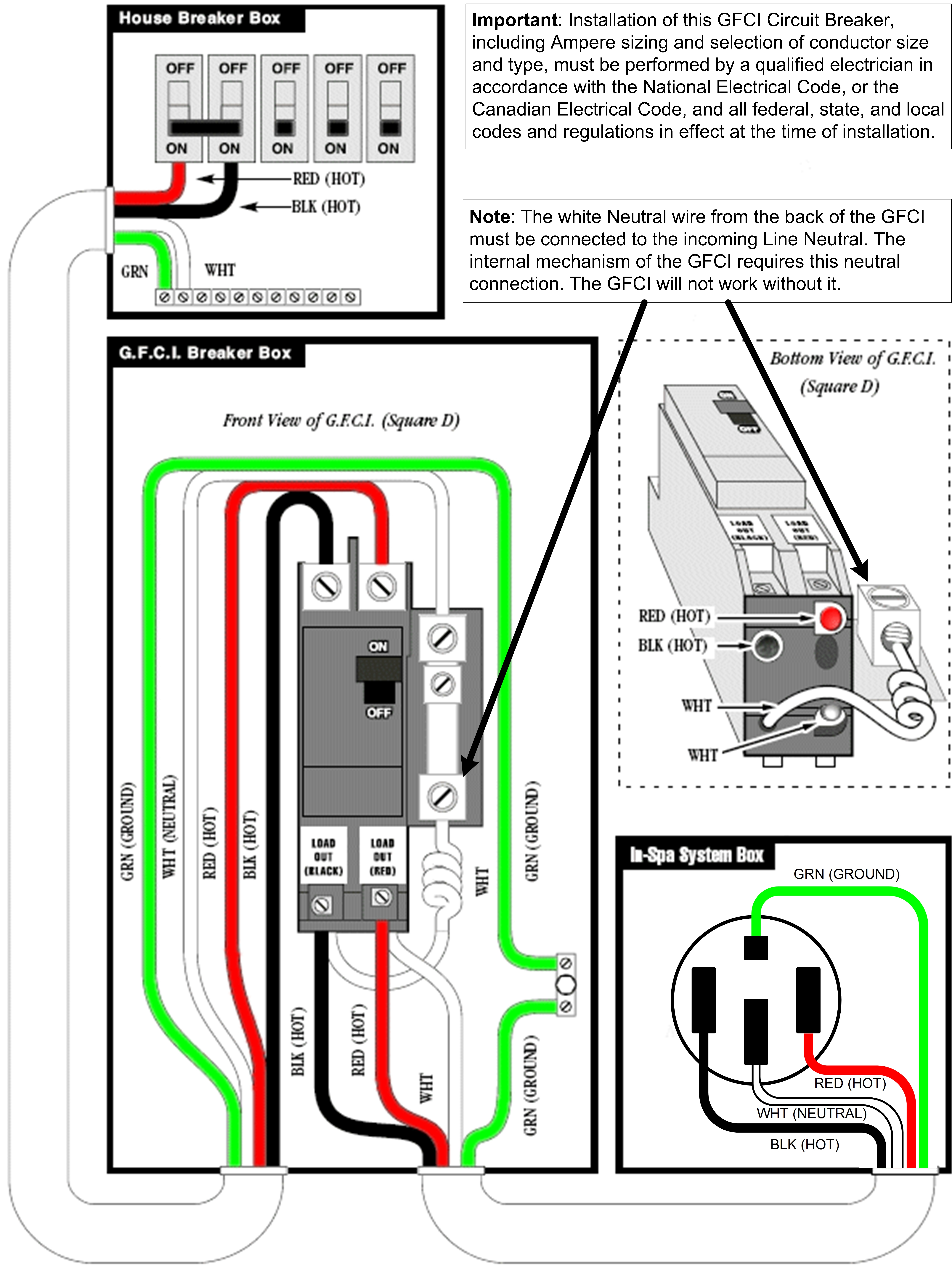 4 Wire Hot Tub Wiring Diagram | Wiring Diagram - Hot Tub Wiring Diagram
