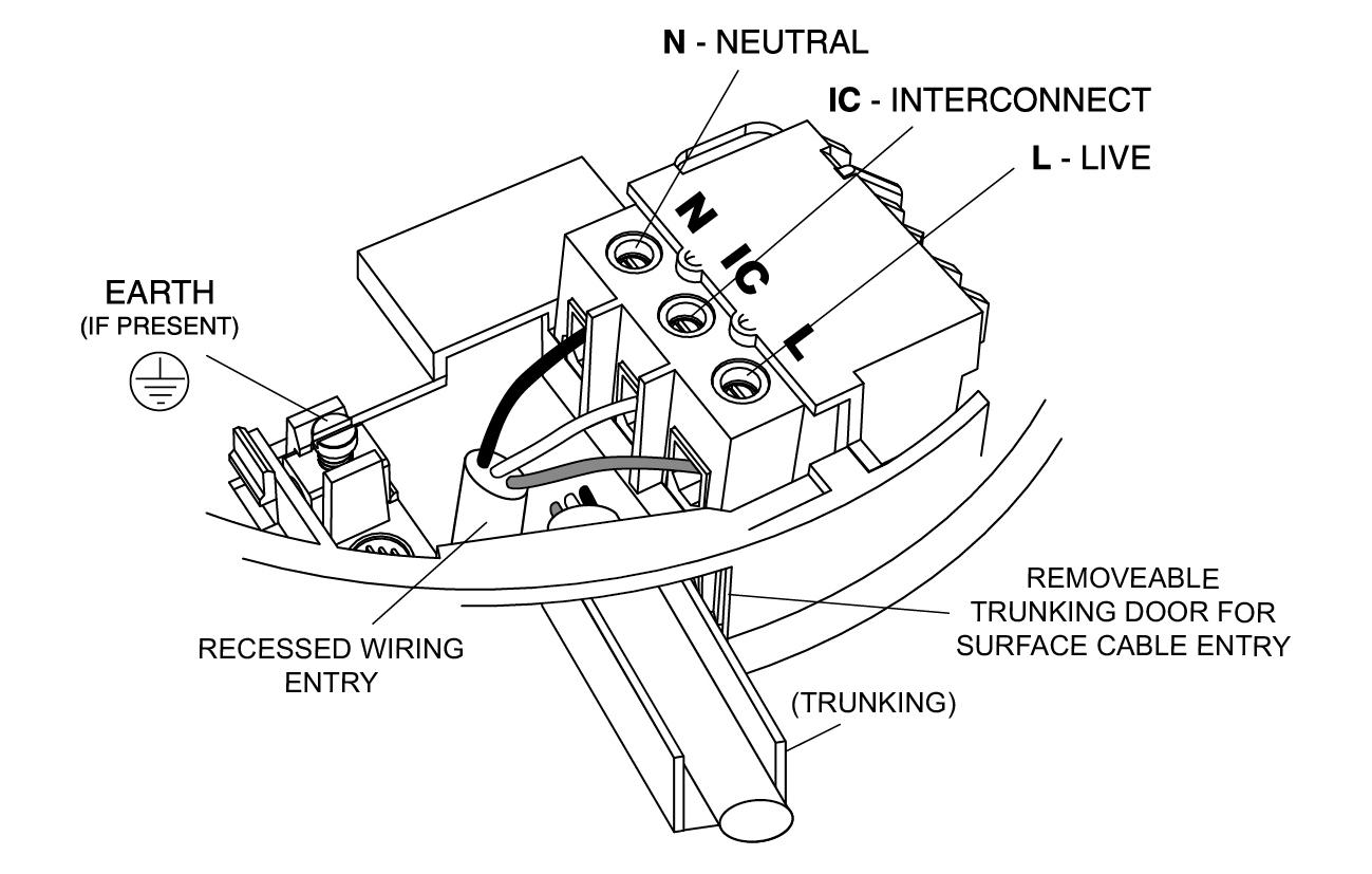 4 Wire Wiring Diagram Alarm | Manual E-Books - 4 Wire Smoke Detector Wiring Diagram