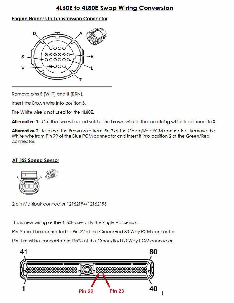 4L60E Transmission Plug Wiring Diagram - Schema Wiring Diagram - 4L60E Transmission Wiring Diagram