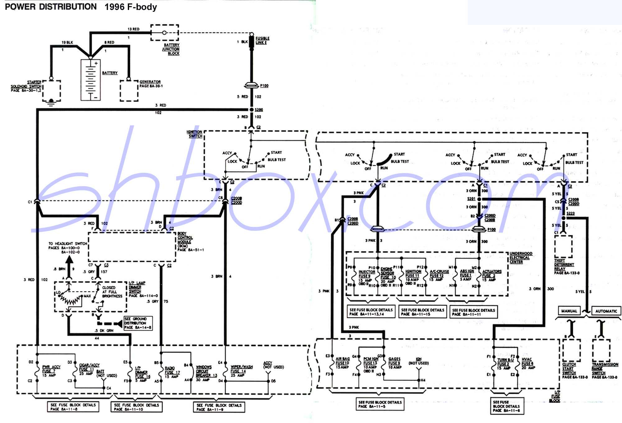 Hei Ignition Conversion Pre Project Wiring Diagram