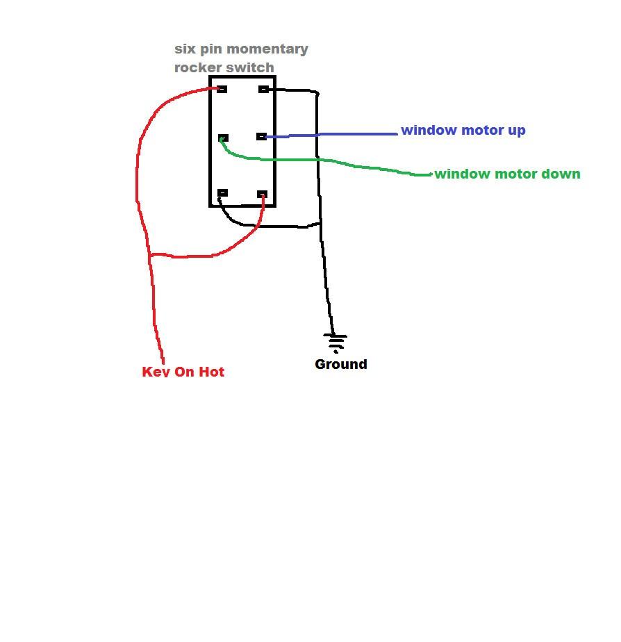 5 Pin Power Window Switch Wiring Diagram 6 Readingrat Image Free On - 6 Pin Power Window Switch Wiring Diagram