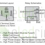 5 Wire Relay Schematic | Wiring Diagram   Automotive Relay Wiring Diagram