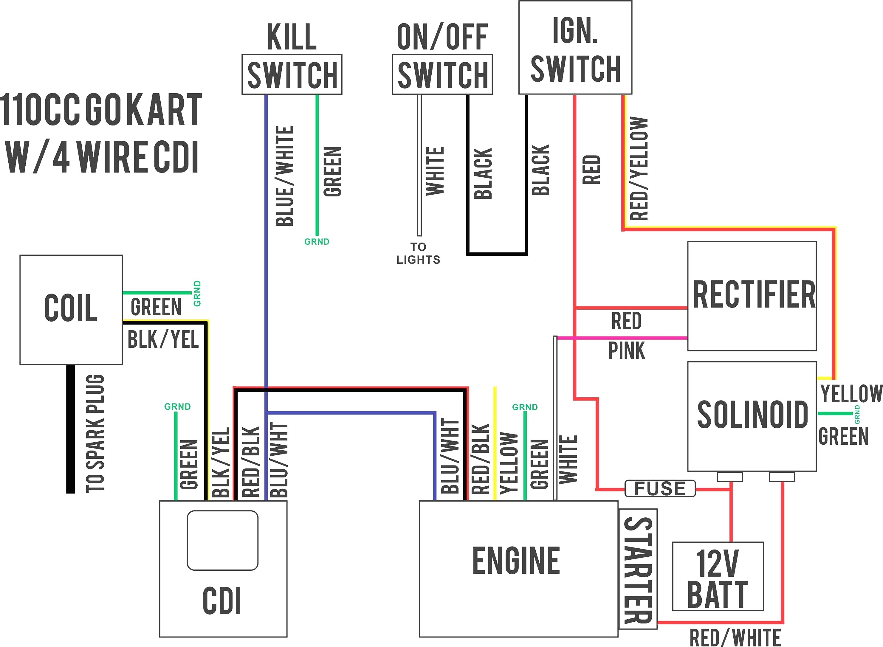 50Cc Scooter Ignition Switch Wiring Diagram | Wiring Diagram - Scooter Ignition Switch Wiring Diagram