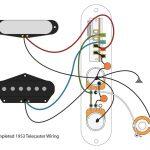 "53 ""blackguard"" Tele Wiring Scheme   Youtube   Telecaster Wiring Diagram"