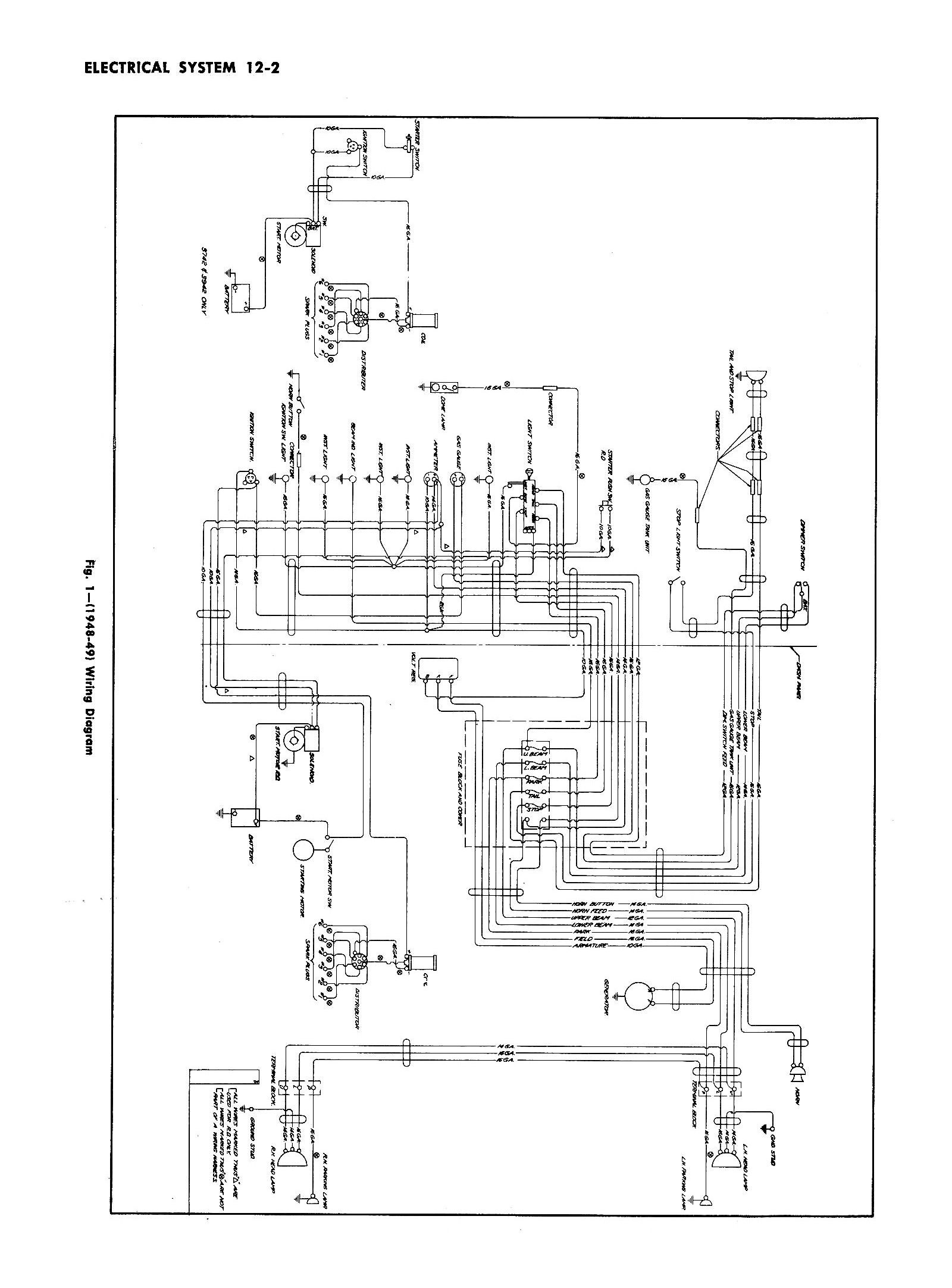 55 Chevy Truck Wiring Diagram   Manual E-Books - Chevy Steering Column Wiring Diagram