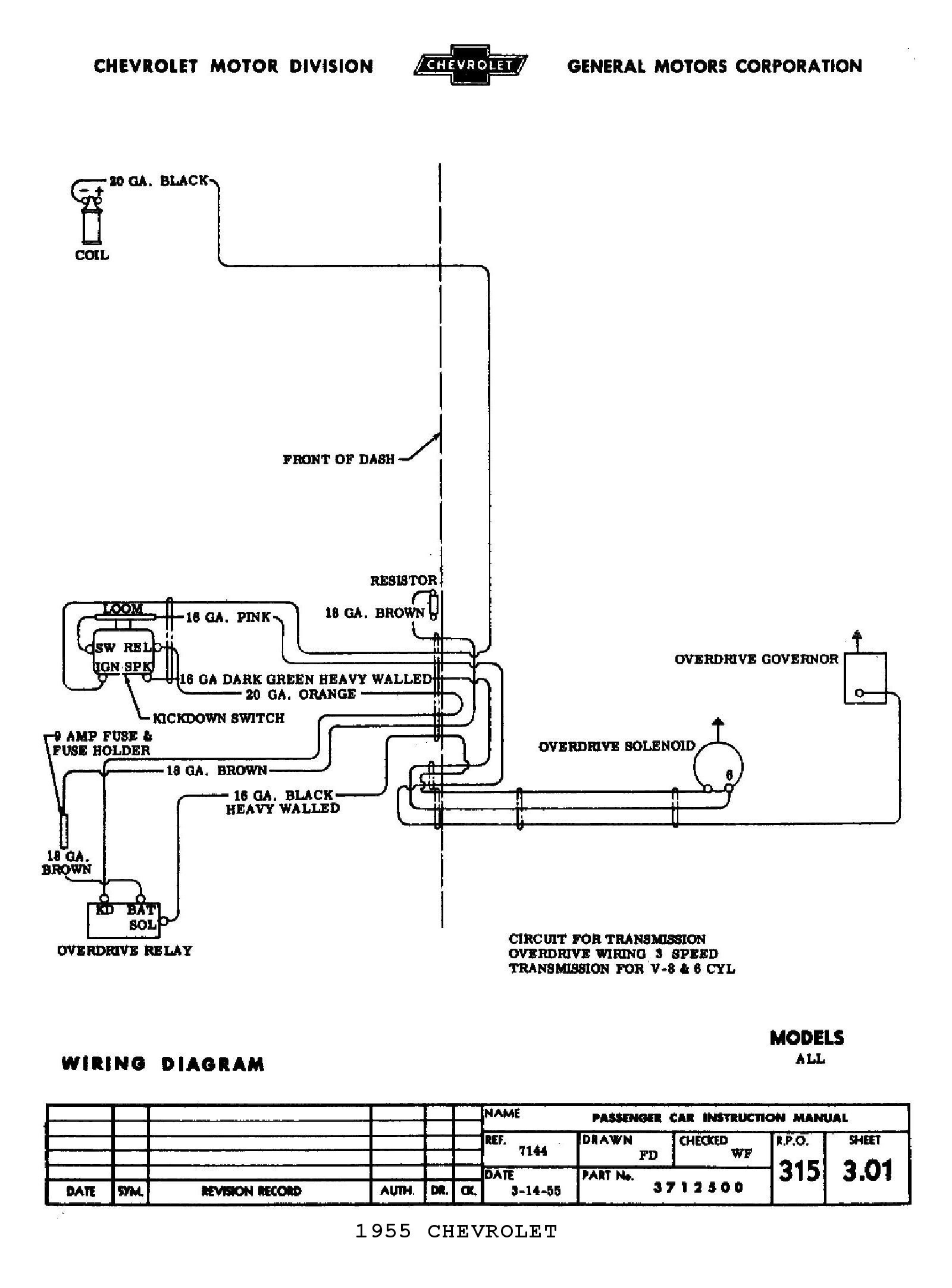 55 Chevy Wiring | Wiring Diagram - Ididit Steering Column Wiring Diagram