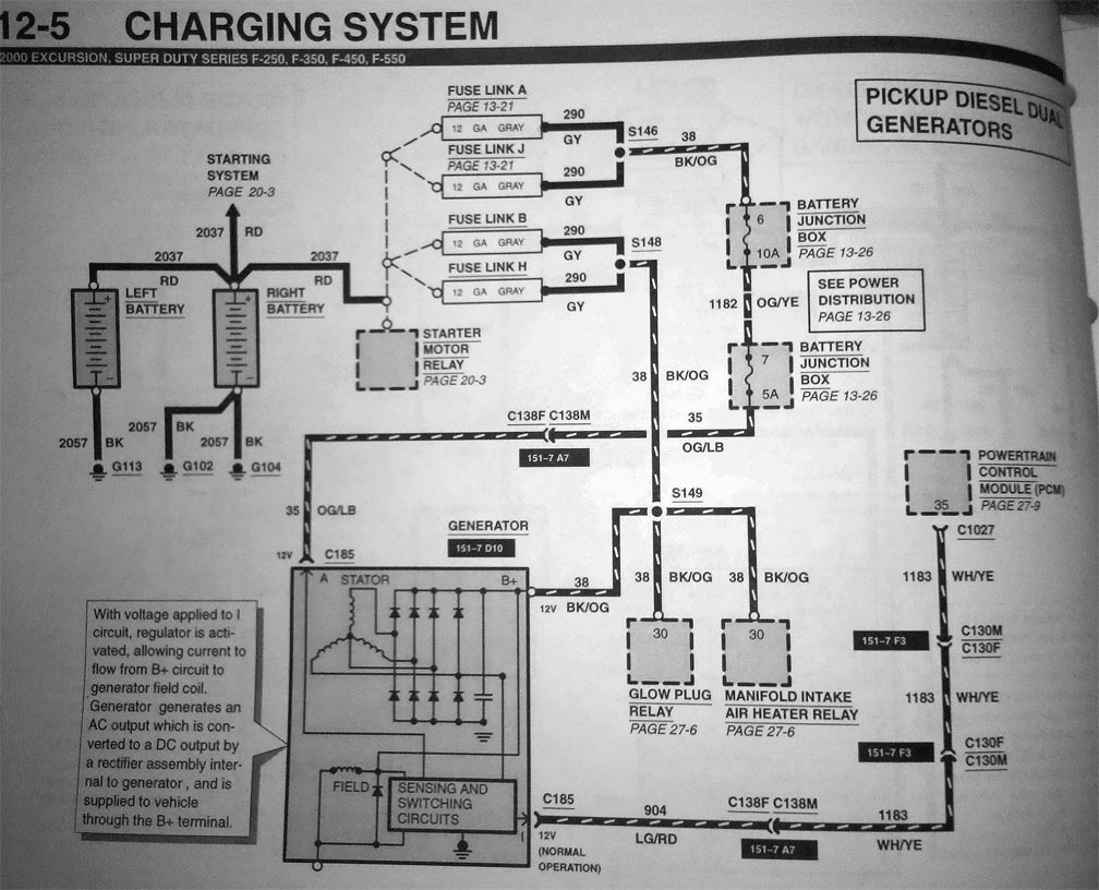 6 0 Powerstroke Wiring Harness Routing : 38 Wiring Diagram Images - 7.3 Powerstroke Wiring Diagram