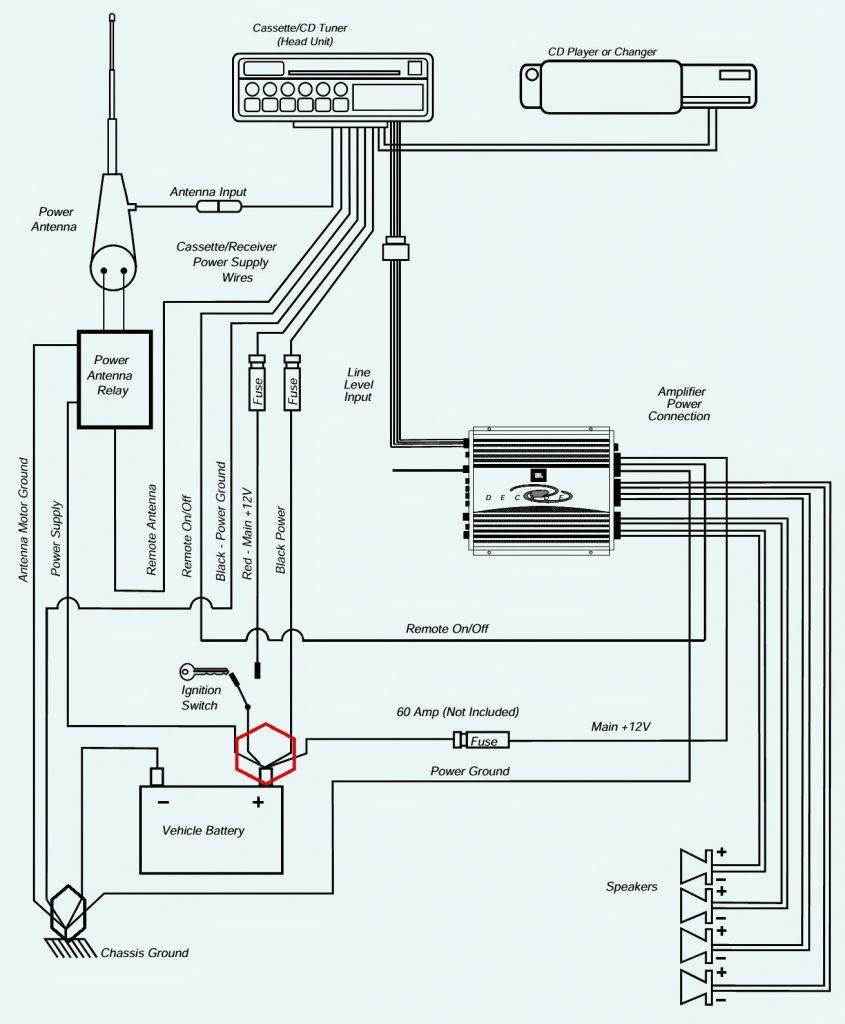 6 Speakers 4 Channel Amp Wiring Diagram   Wiring Library - 6 Speakers 4 Channel Amp Wiring Diagram