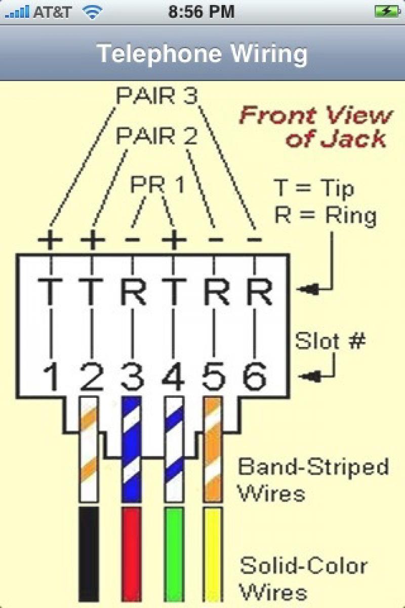 6 Wire Rj11 Pinout   Wiring Library - Rj45 To Rj11 Wiring Diagram