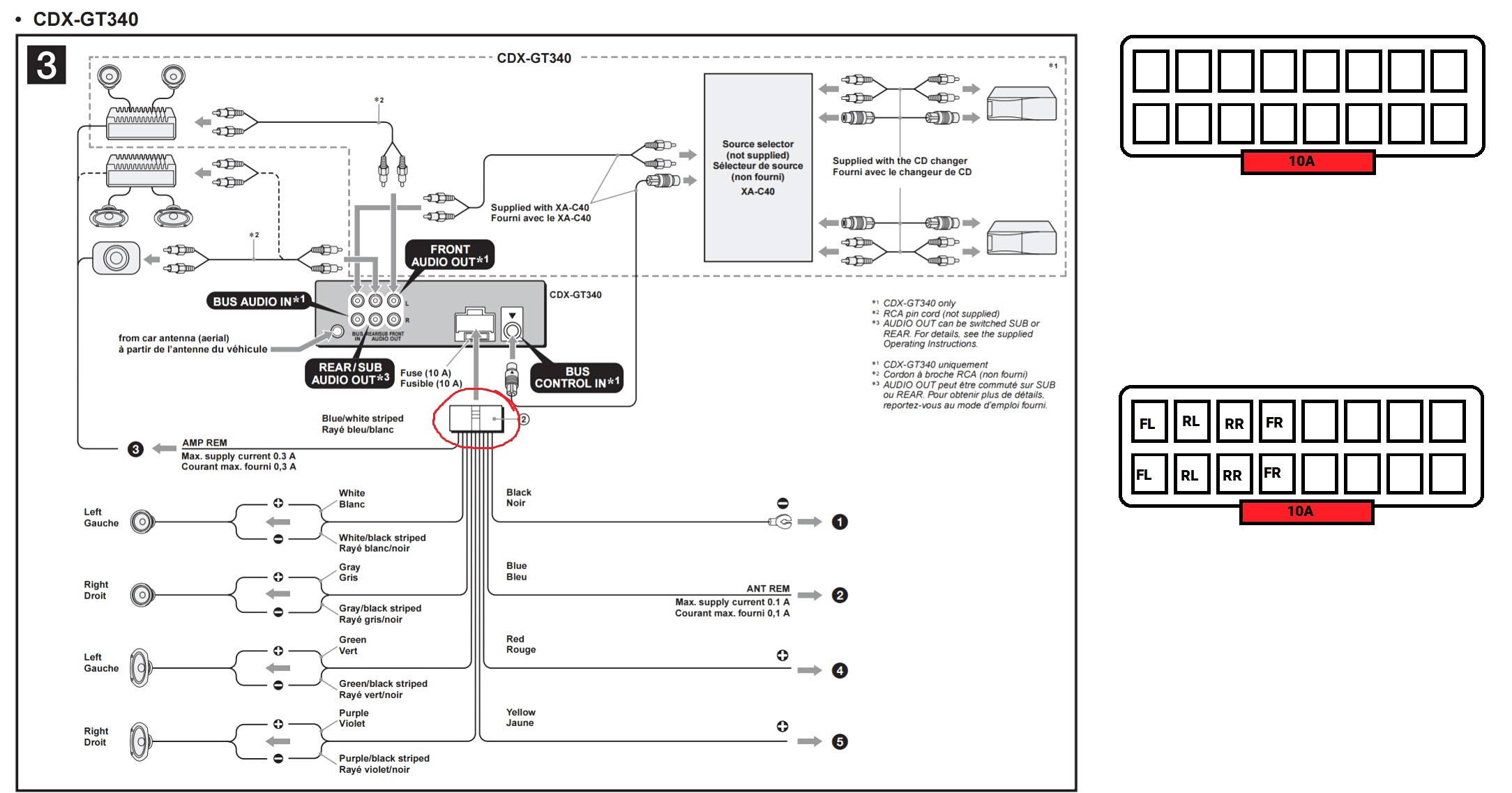 Diagram Wiring Sony Xplod Full