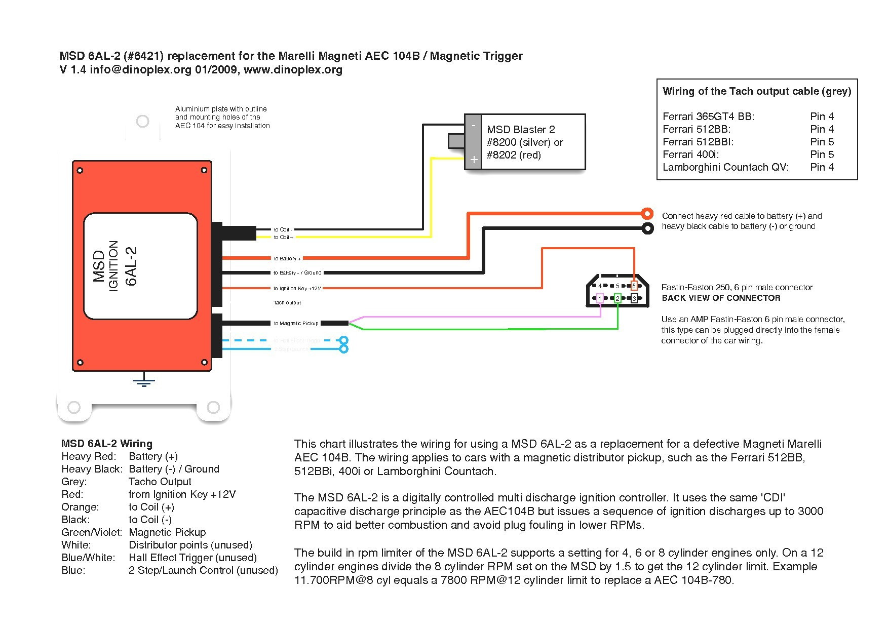 Msd 6a Wiring Diagram