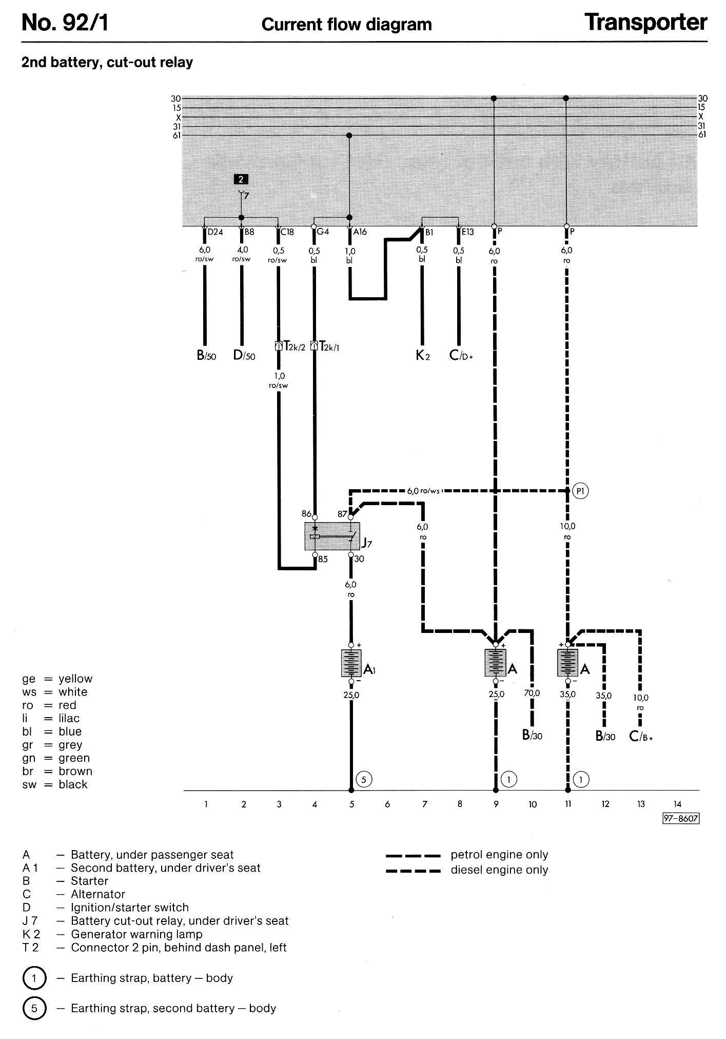 66 Vw Transporter Wiring Diagram | Best Wiring Library - Electric Heater Wiring Diagram