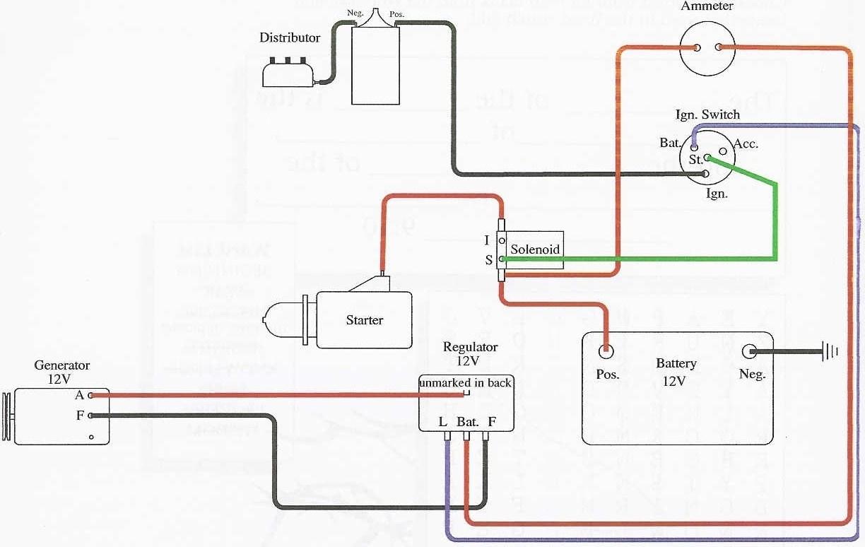 6V Generator Wiring Diagram | Wiring Diagram - 6 Volt Positive Ground Wiring Diagram