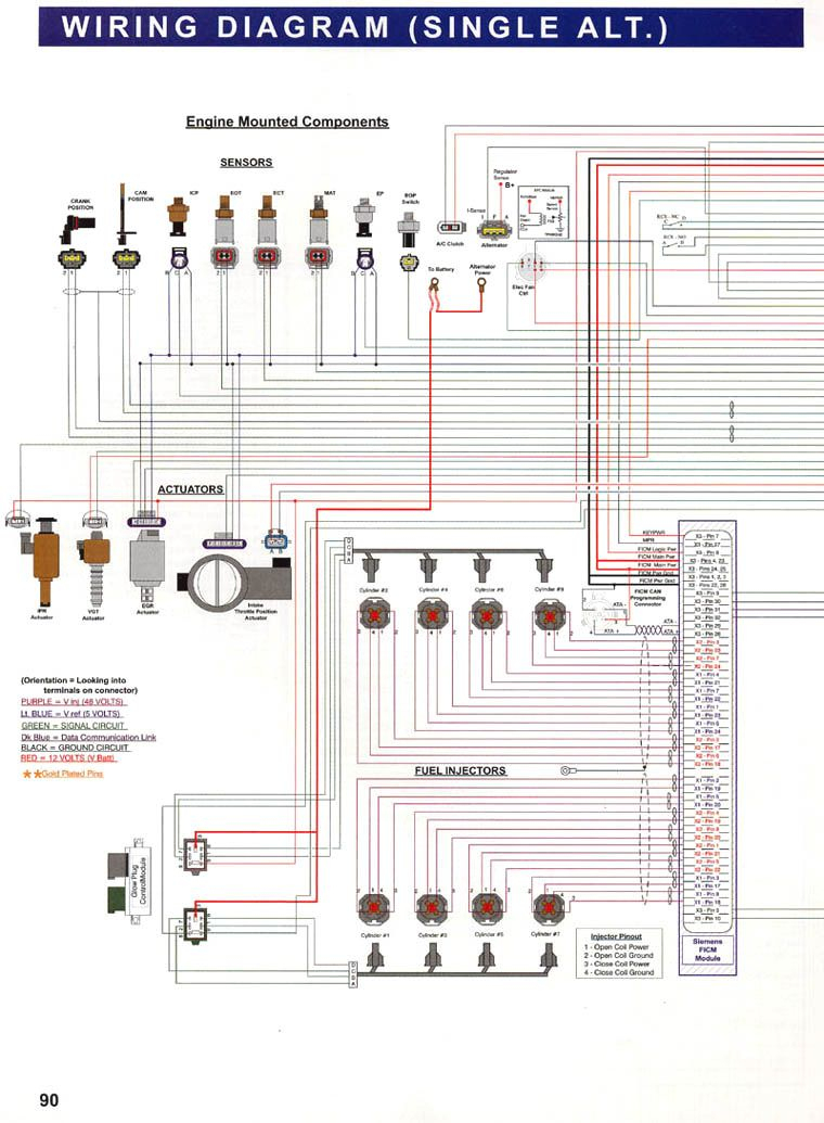 7.3 Powerstroke Wiring Diagram - Google Search | Work Crap | Ford - 7.3 Powerstroke Wiring Diagram