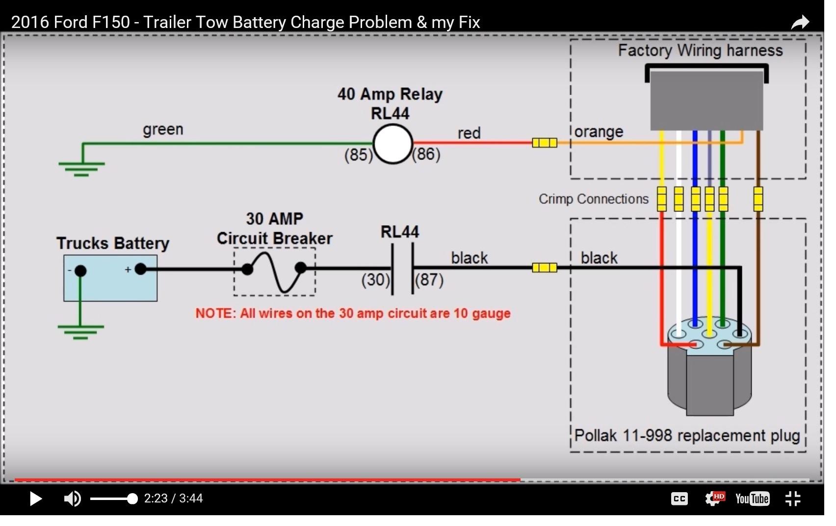 7 Pin To 4 Pin Trailer Wiring Diagram   Manual E-Books - 7 Pin To 4 Pin Trailer Wiring Diagram