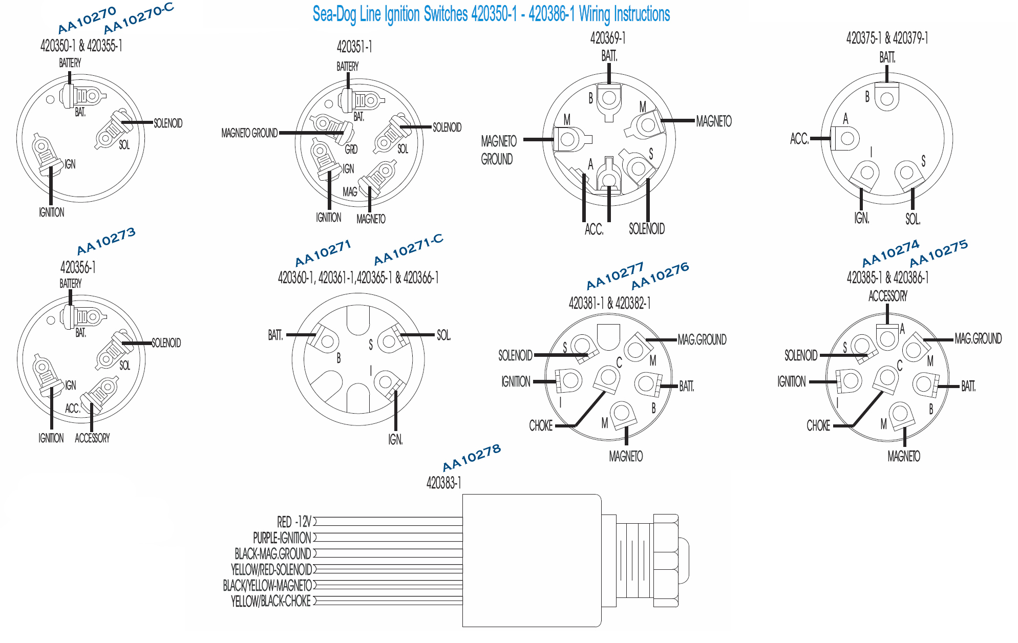 6 Pole Ignition Switch Wiring Diagram from annawiringdiagram.com