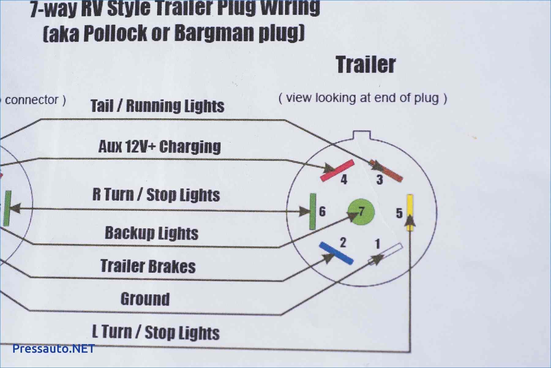 7 Way Trailer Plug Wiring Diagram Beautiful 7 Ford Trailer Wiring - 7 Way Trailer Plug Wiring Diagram Ford