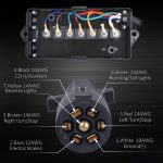 7 Way Trailer Wiring Junction Box With Diagram | Manual E Books   Trailer Junction Box Wiring Diagram