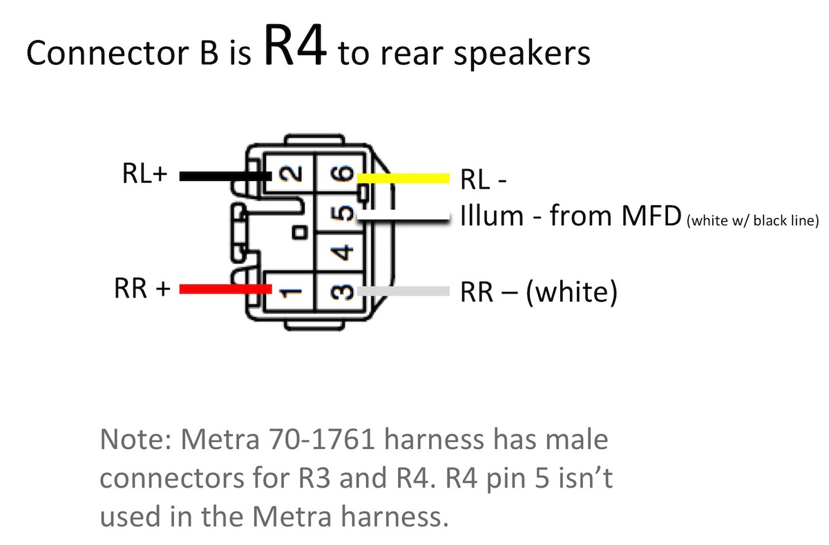 70 1761 Wiring Diagram   Wiring Diagram - Metra 70-1761 Wiring Diagram