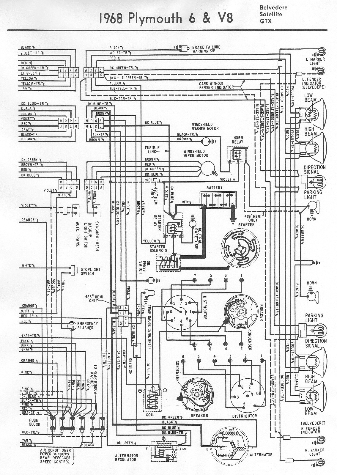 70 Mopar Wiring Diagram | Wiring Library - Mopar Wiring Diagram