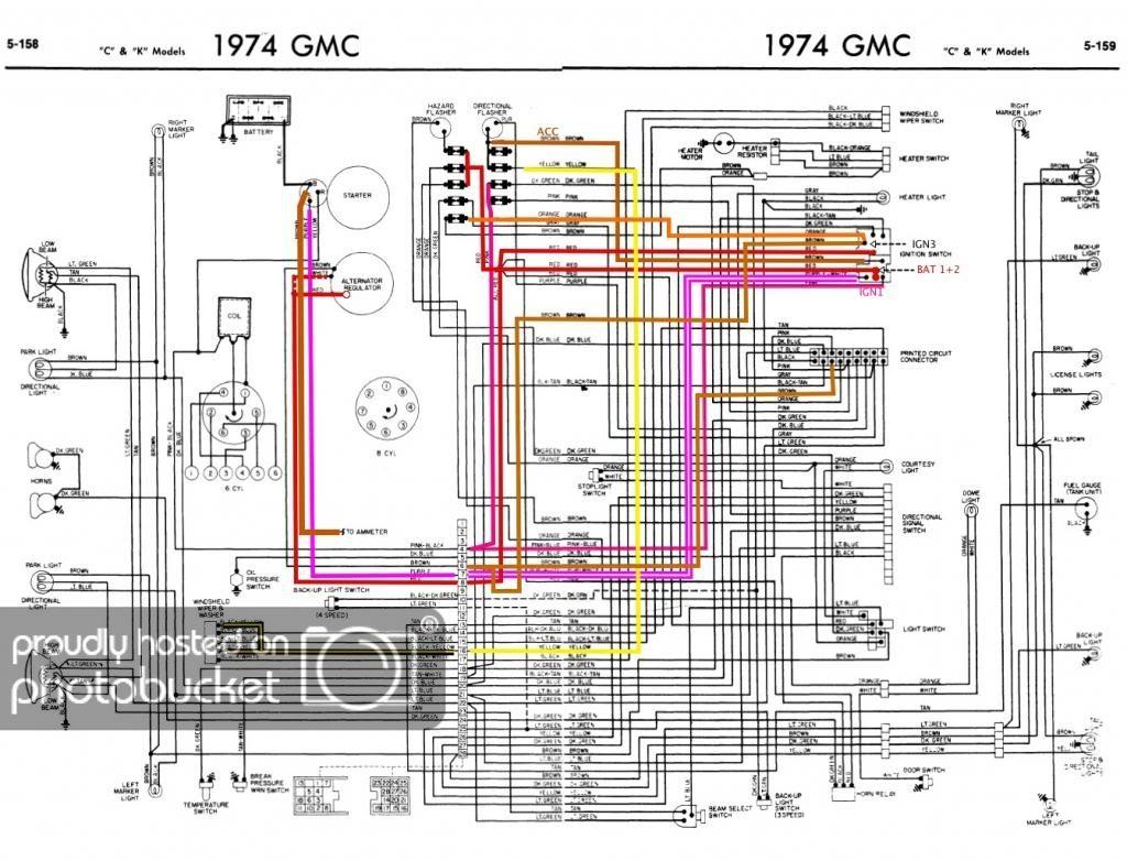 77 Gmc Wiring