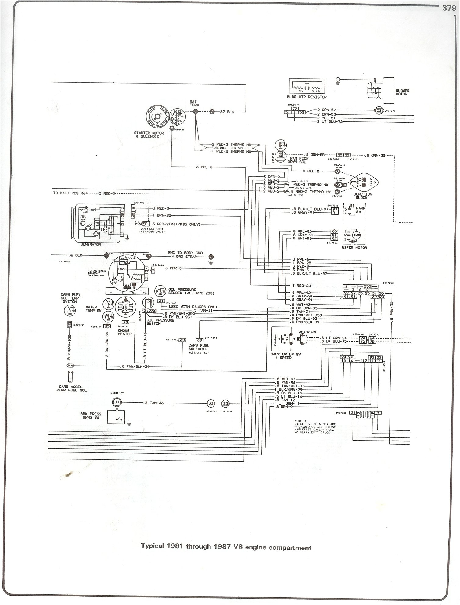 86 Chevy Truck Wiring Harness | Wiring Diagram - 87 Chevy Truck Wiring Diagram