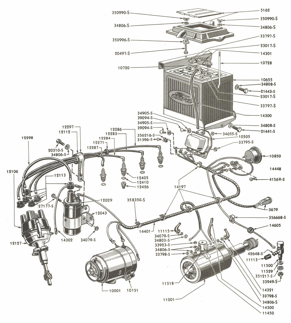 8N Tractor Wiring - Wiring Diagram Data - 9N Ford Tractor Wiring Diagram