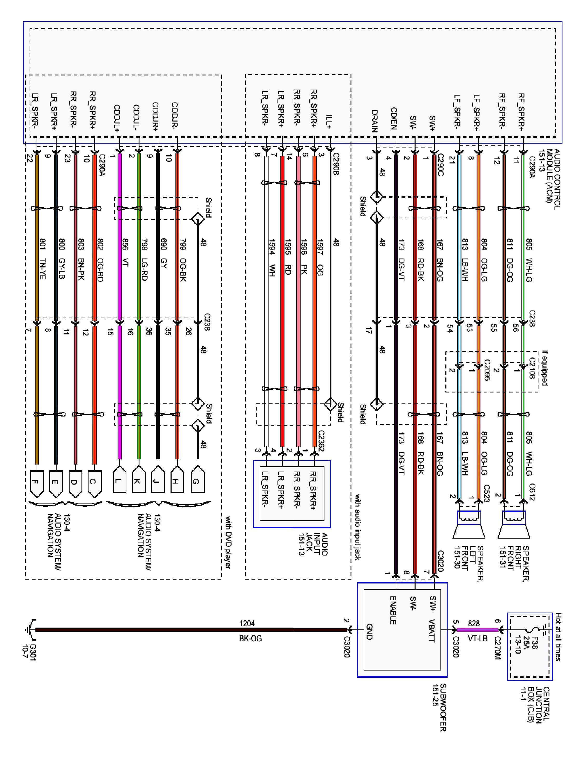 2005 Ford Explorer Radio Wiring Diagram | Wiring Diagram