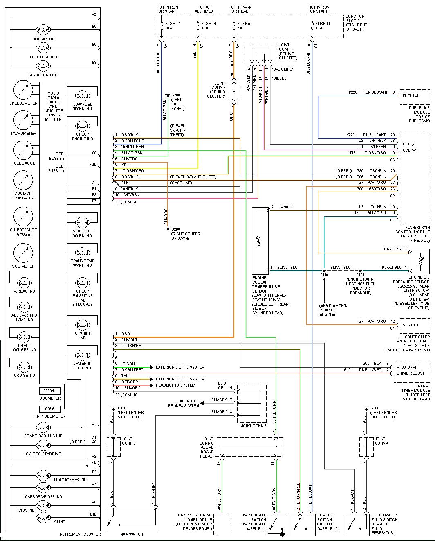 98 Dodge Ram Stereo Wiring Diagram | Manual E-Books - Dodge Ram 1500 Wiring Diagram