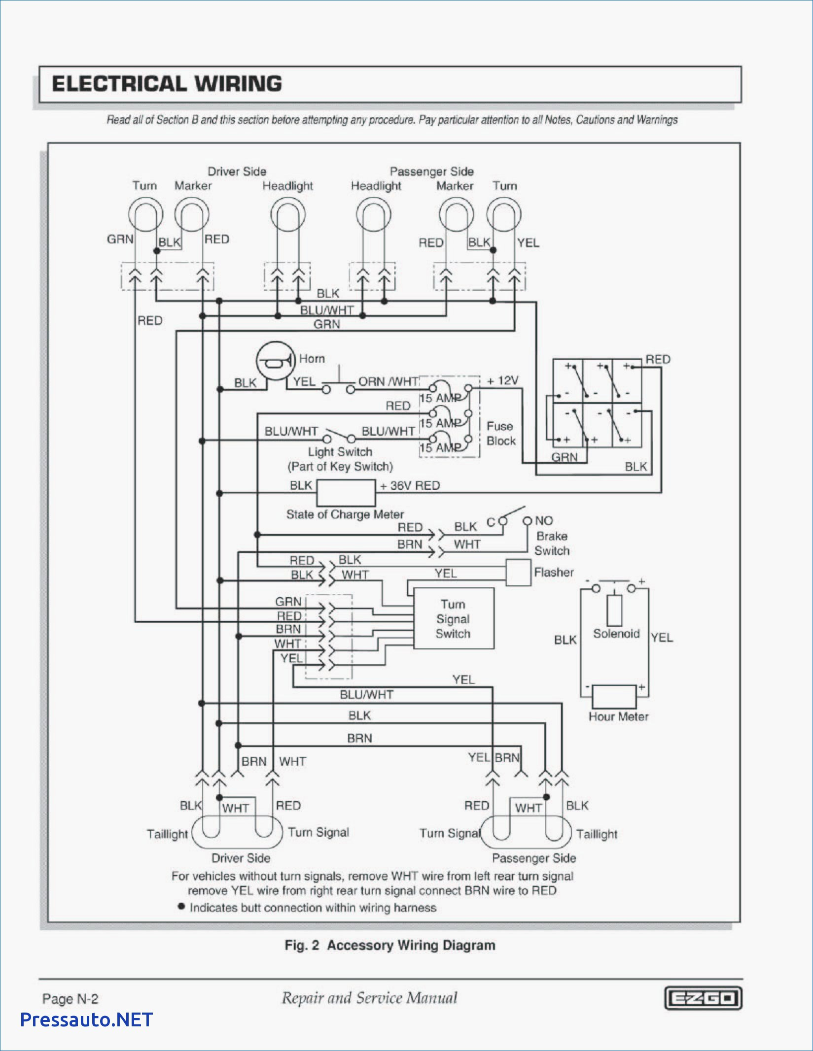 98 Ezgo Wiring Diagram | Manual E-Books - Ez Go Wiring Diagram 36 Volt