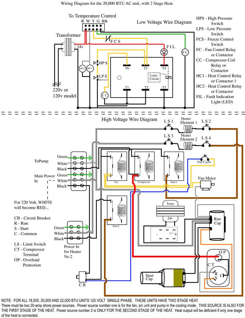 A C Unit Wiring Diagram | Schematic Diagram - Central Ac Wiring Diagram